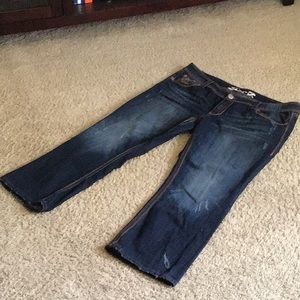Bootcut Seven Jeans distressing 20WP
